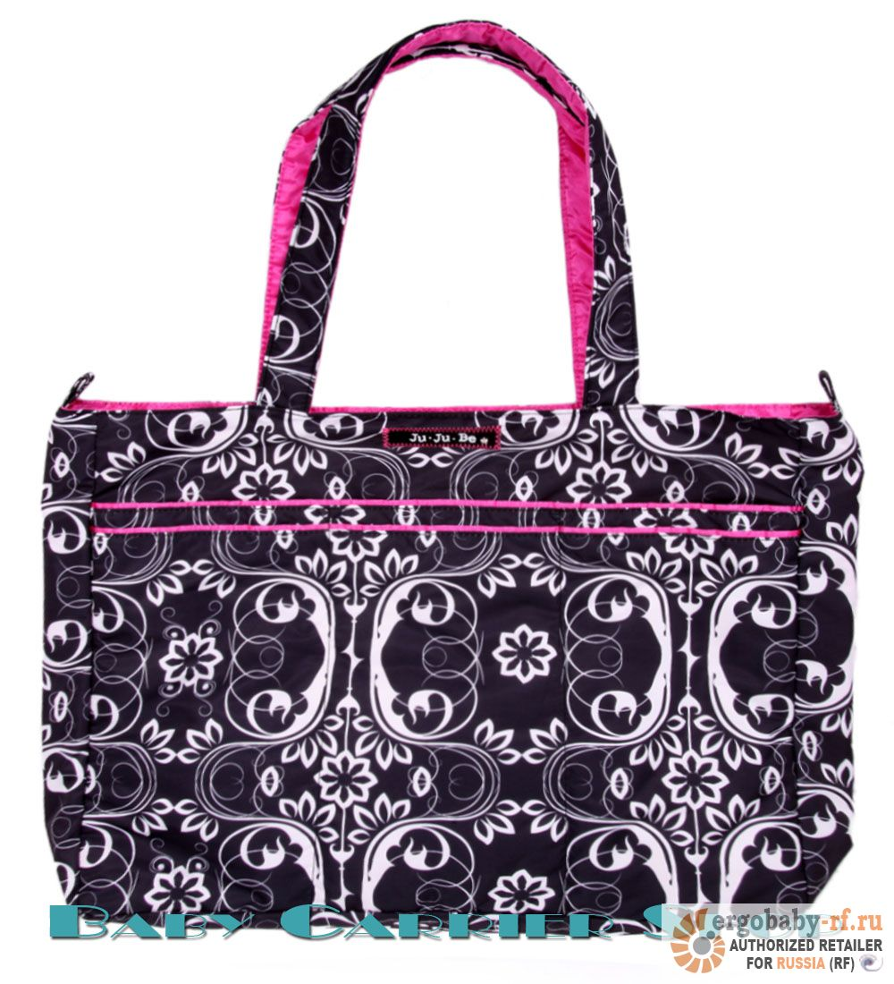 Пляжная сумка для мамы на коляску JU-JU-BE «Mighty Be Shadow Waltz» Beyond Collection JuJuBe [ЖуЖуБи Майти Би]