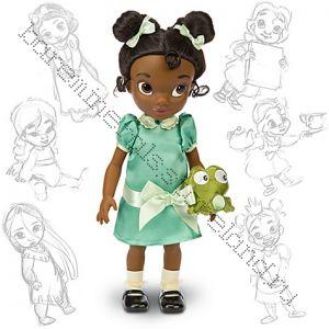 Кукла Тиана в детсве