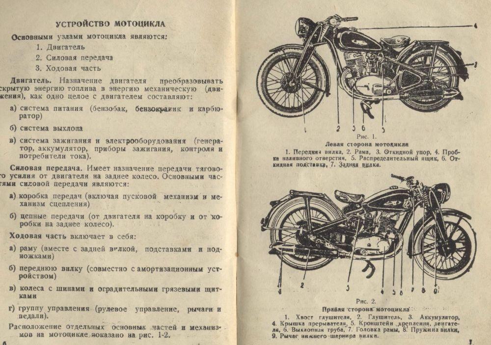 Инструкция к мотоциклу минск скачать бесплатно