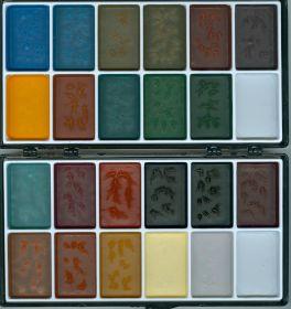 Грим спиртовой, W.M.CREATIONS, 22 цвета