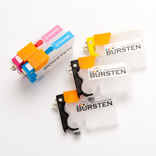 Перезаправляемые картриджи Bursten Nano 2 для Epson Stylus Office T1100 (T1031 - T1034) x 5 шт.