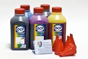 Чернила OCP для принтера и МФУ Canon MG5340, iP4940, iP3600 (BKP44, BK124, C154, M144, Y144), картриджи PGI-425, CLI-426, PGI-520, CLI-521 комплект 500 гр. x 5