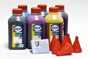Чернила OCP для принтера и МФУ Canon MG6340, MG7140, MG7540, IP8740 (BKЗ235, BK130, BK135, C712, M135, Y135), картриджи PGI-450, CLI-451, комплект 500 гр. x 6