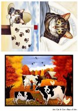 Cat&cow (формат A4)