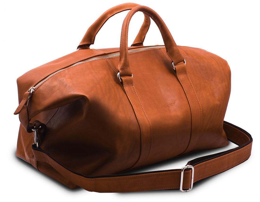 Дорожная сумка кожаная