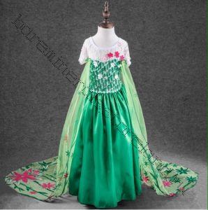Костюм Эльзы платье Холодное сердце Летнее рост 120 см, 130 см