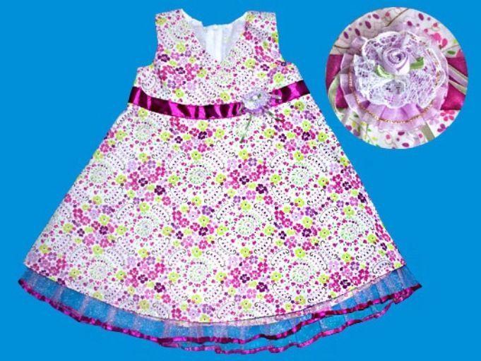 Нарядное платье для девочки (Размер: 80)