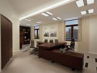 натяжной потолок в офисе