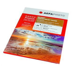 Фотобумага Agfa - А4 суперглянец, плотность 260 г/кв.м, 20 листов