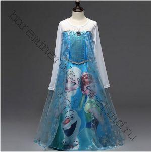 Платье Эльзы Холодное сердце 4-5 лет размер 110 см
